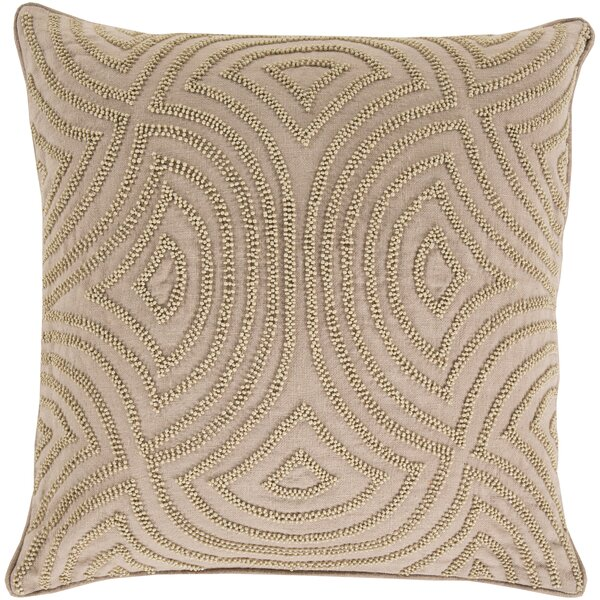 Lawrenceville 100% Linen Throw Pillow Cover by Darby Home Co